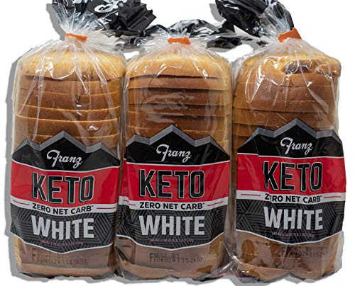 Keto Bread, 0 (Zero) Net Carbs Per Serving, 3 Loaves in your Keto Diet