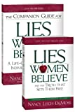 img - for Lies Women Believe/Companion Guide for Lies Women Believe- 2 book set book / textbook / text book