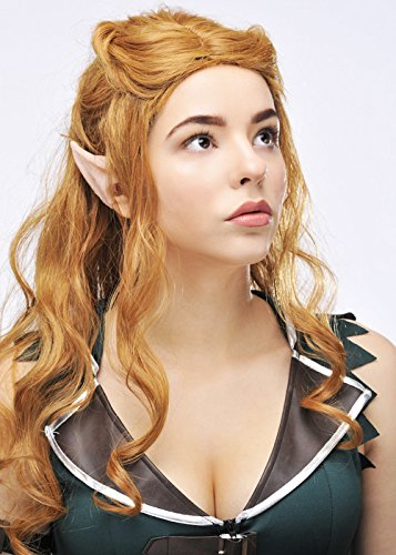 Tauriel Elf Costumes (The Hobbit Tauriel Style Auburn Elf Wig)