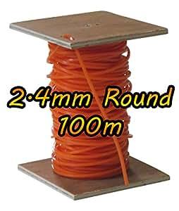 100m de Stihl–2.4mm Round Desbrozadora cortacésped Recortadora línea alambre