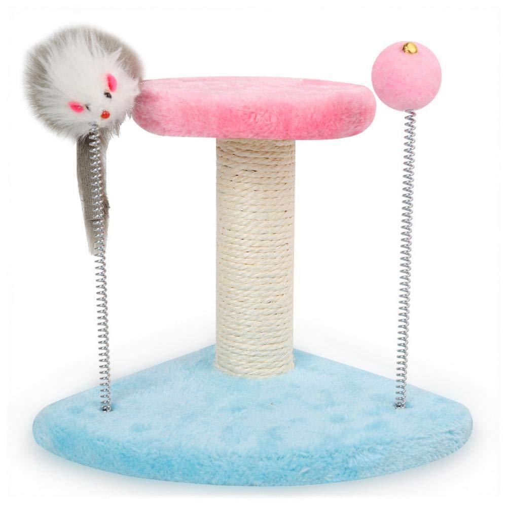 bluee Weiwei Cat Climbing cat Tree cat nest for Sleeping Games 15cm 17cm  25cm