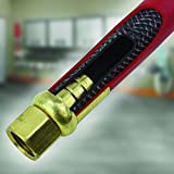 """Milton 2760-50D - Steel Dual Arm Auto-Retractable Air Hose Reel, 3/8"""" x 50 ft. Rubber Hose - 300 Max PSI"""
