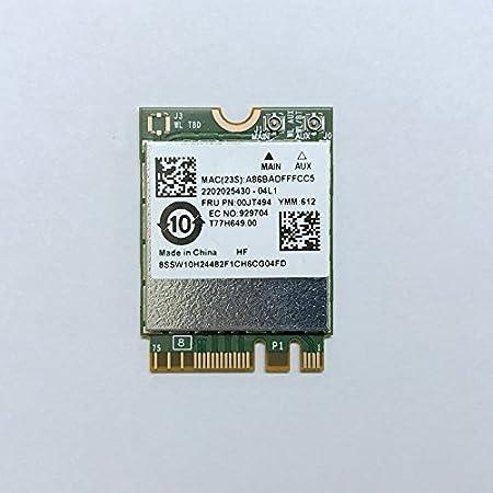 PORJET Wireless-AC NGFF(M 2) BCM94350ZAE 802 11ac 867M WiFi & Bluetooth BT  4 1 Network WLAN Card FRU:00JT494