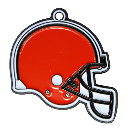 NFL Dog TAG - Cleveland Browns Smart Pet Tracking Tag. - Best Retrieval System for Dogs, Cats or Army Tag. Any Object You'd Like to Protect ()