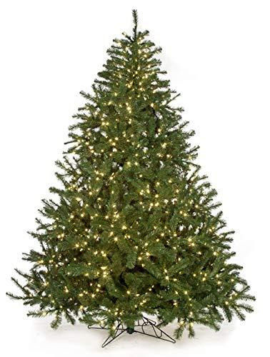 Autograph AUF001 フルサイズ ヴァージニアパインツリー クリスマス 7.5フィート ウォームホワイト LEDライト B07J5WX9R2