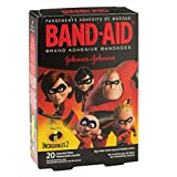 Band-AID Disney Pixar Incredibles 2-First Aid Kid Supplies-20 per Pack