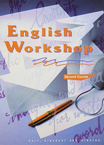 Holt, Rinehart and Winston English Workshop Second Course Grade 8 (HRW English Workshop)