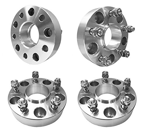 "5x5 Hubcentric Wheel Spacers 1.5"" inch (38mm) For JK Jeep Wrangler, XK Commander, WJ WK Grand Cherokee (71.5mm bore, 1/2"