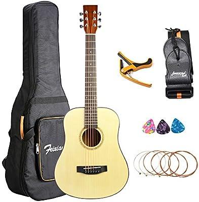 Guitarra clásica para niños principiantes 34 pulgadas Guitarra de ...