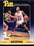 img - for University of Pittburgh (Pitt) Basketball Program 1990 (University of Arizona) book / textbook / text book