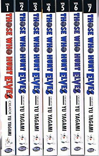 Those Who Hunt Elves, Volumes 1 Thru 7 (Manga Comedy)