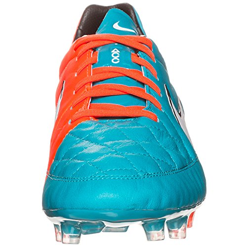 Nike Tiempo Legend V Fg 631518 Herren Fußballschuhe Training blau - orange