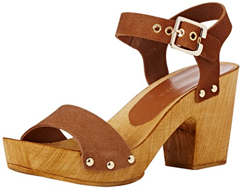 New Look Pipey, Mules Mujer Marrón (18/Tan)