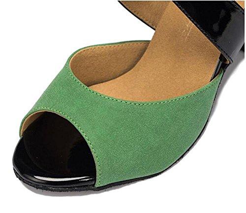 latino EU39 Sala ballo Danza XIE Taogo da da 35 A donna Taglia EU40 Scarpe 41 sandali pompe Velluto xB0xRTHFq