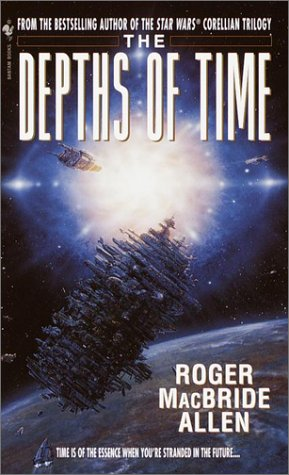 book cover of The Depths of Time