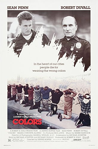Colors  Movie Poster 24x36 inches Sean Penn
