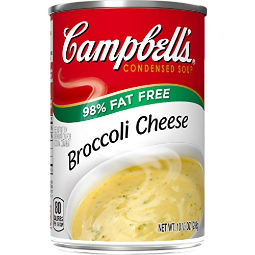 Campbell's 98% Fat Free Condensed Soup, Broccoli Cheese, 10.5 Ounce (Pack of 12)