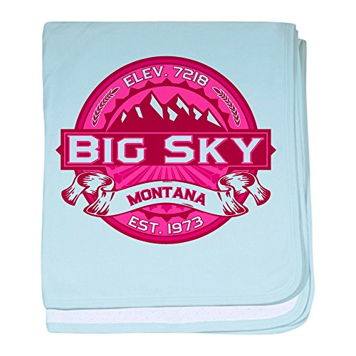 - CafePress - Big Sky Honeysuckle - Baby Blanket, Super Soft Newborn Swaddle