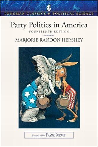 Livres gratuits pdf téléchargerParty Politics in America (Longman Classics in Political Science) (14th Edition) en français PDF ePub iBook 0205793193