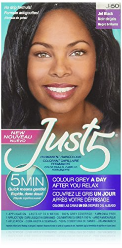 - Just 5 5 Minute Colorant, Natural Jet Black - 3 Pack