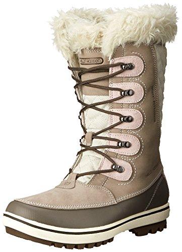 Helly Hansen Women's Garibaldi Cold Weather Boot, Moon Rock/String/Bunge, 8 M - Snow Helly Hansen