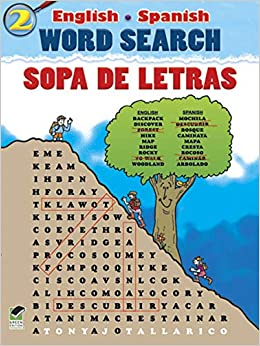 English-Spanish Word Search/Sopa de Letras #2 (Dover Childrens Language Activity Books) Paperback – July 21, 2011