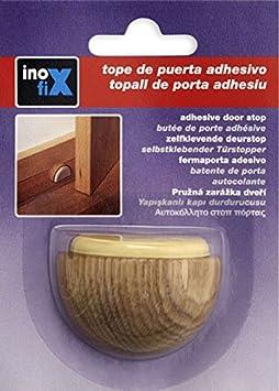 Inofix M258378 - Tope puerta madera adhesivo 2039-8a haya