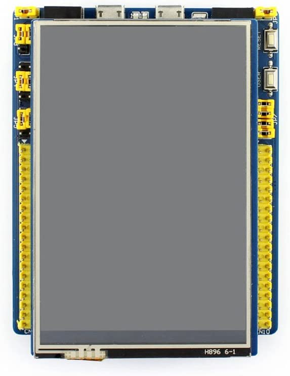 Waveshare 4inch TFT Touch Shield Resistive Screen LCD 480x320 Resolution Compatible with UNO Leonardo UNO Plus NUCLEO and XNUCLEO