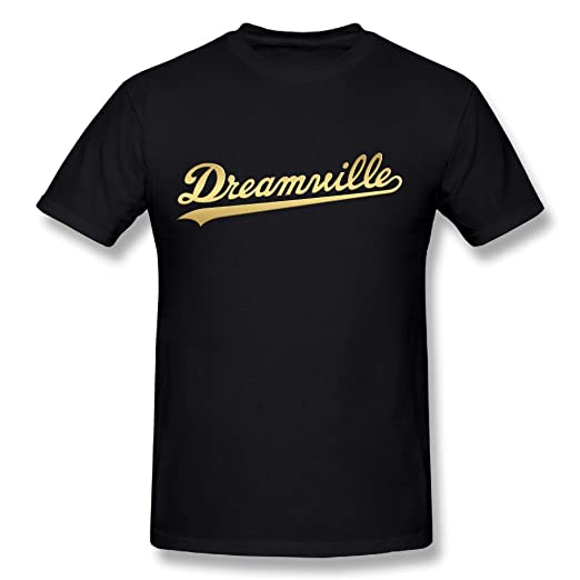 f3310b94eed4 Amazon.com: Men's J. Cole Dreamville Records Short Sleeve Tee Shirt ...