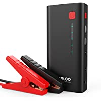 Gooloo EPower150 600A Peak Car Jump Starter with Built-in LED Flashlight