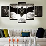 GEVES Unframed Printed HD Movie Poster Batman Group Painting Children's Room Decor Print Poster Picture Canvas