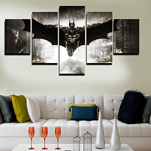 2016 5 Unframed Printed HD Movie Poster Batman Group Paintin