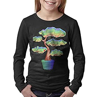08&FD0 Bonsai Tree Youth Round Neck Shirts