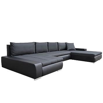 Grosses Design Ecksofa Caro Elegante U Form Couch Eckcouch Mit