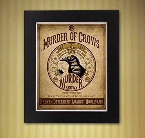 Bioshock Infinite Murder of Crows Vigor 8 x 10 print