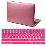 HDE MacBook 12 Case Metallic Plasti