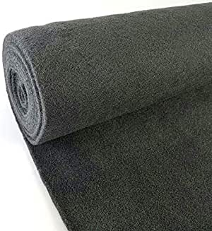 Absolute C20GR 20-Feet Long by 4 Feet Wide, 80 Square Feet Gray Carpet for Speaker Sub Box Carpet Home, Auto, RV, Boat, Marine, Truck, Car Trunk Liner