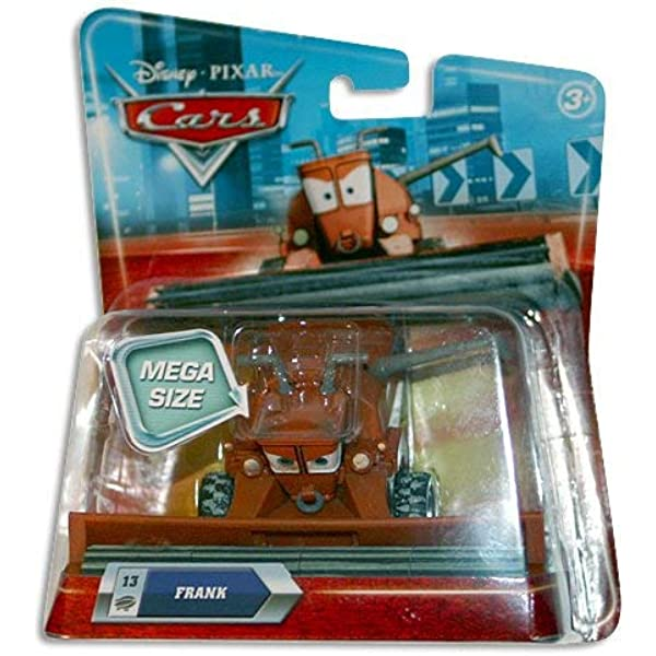 Disney Store Cars 2 Die Cast Deluxe Frank the Combine 1:55 scale 2017 NEW