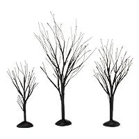 Departamento 56 4033851 Accesorios para aldeas de árboles de Halloween con ramas negras, 1.77 pulgadas
