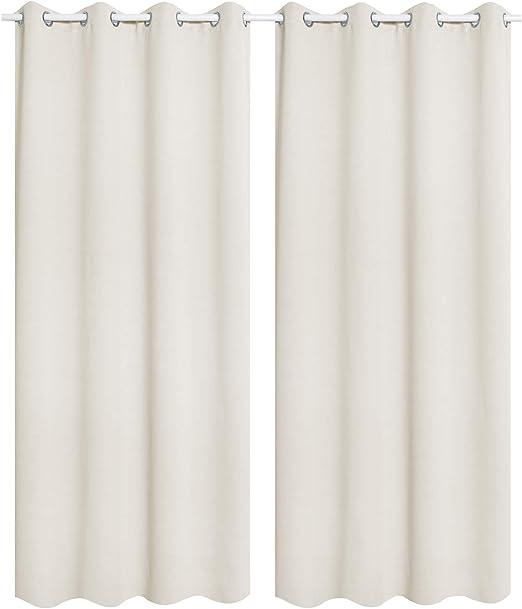 """Vorhang /""""Winter/"""" 135 x 245 cmverdeckte Schlaufenblickdicht"""