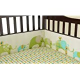 Laura Ashley Elephant Parade 4 Piece Crib Bumper