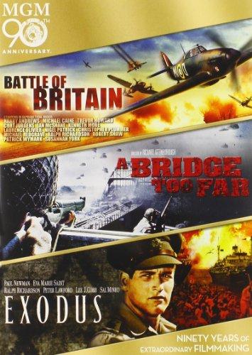 Battle of Britain / A Bridge Too Far / Exodus Triple Feature