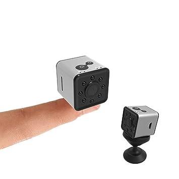 Oculto Nanny CAM cámara 1080P, Mini espía vigilancia cámara WiFi visión Nocturna Impermeable, Hiddwn Video vigilancia Copcam para el hogar, Coche, ...