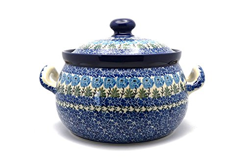 Polish Pottery Covered Tureen (without ladle slot) - Antique ()