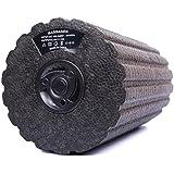 [Pastel Tech] 電動 振動 マッサージポール ローラー 4段階振動調整 エクササイズマニュアル付き ヨガ 筋膜リリース ST-1