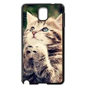 Case Of Cute Cat customized Bumper Plastic case For samsung galaxy note 3 N9000