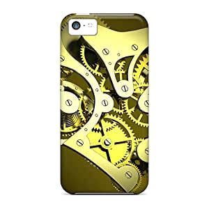 New Arrival Premium 5c Cases Covers For Iphone (metal Heart Wallpaper)