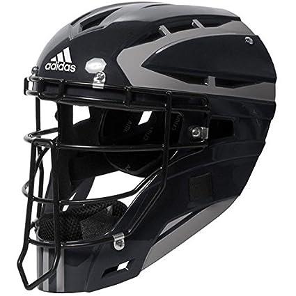 24f291e475c7 Amazon.com  adidas Performance PRO Series Baseball Catchers Helmet ...