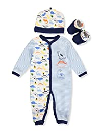 Buster Brown Baby Boys' 3-Piece Layette Set