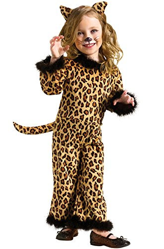 Toddler Pretty Leopard (Large (3T - -
